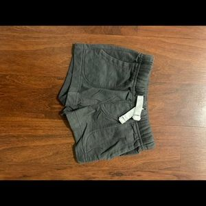 3/15 carters gray shorts size 3 months
